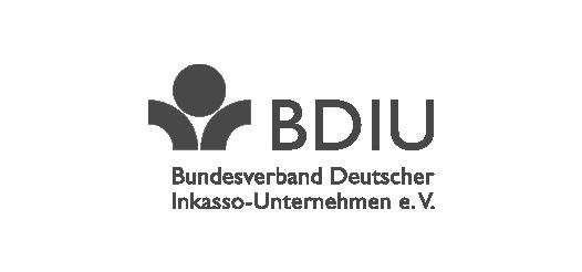 Logo des BDIU Bundesverband Deutscher Inkasso-Unternehmen e.V.