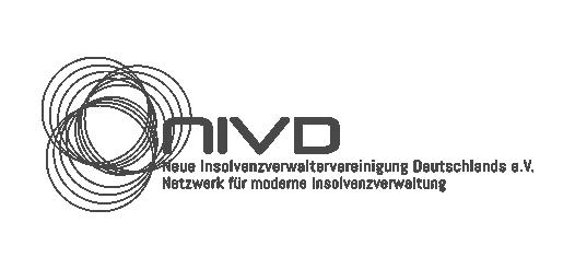 Logo der NIVD, Neue Insolvenzverwaltervereinigung Deutschlands e.V.