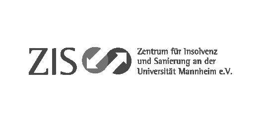 Logo des ZIS,  Zentrum für Insolvenz und Sanierung an der Universität Mannheim e.V.