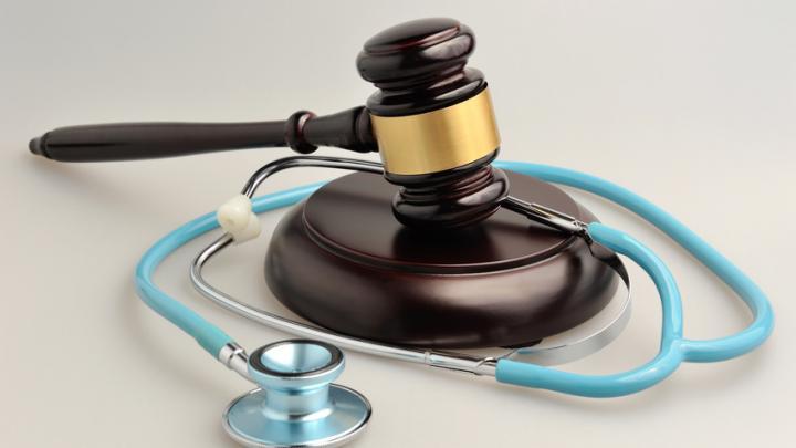 Imagebild Stethoskop, Gerichtshammer