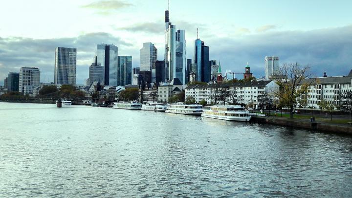 Skyline Frankfurt Herbst 2019