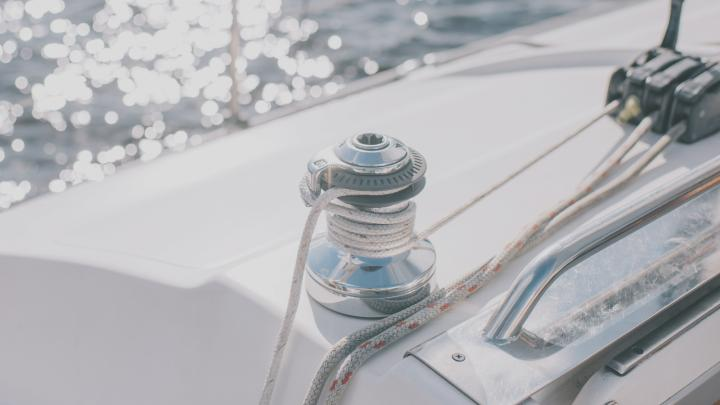 An Bord eines Segelschiffes