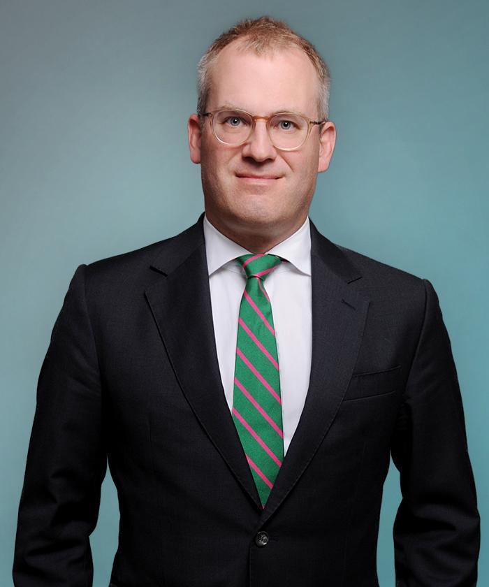 Portrait von Christian Philipp Huss, Rechtsanwalt Insolvenzrecht - Prozessfinanzierung LEGIAL